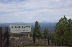 The top of Lava Butte, a cinder cone at more than 5,000 feet, offers 360-degree views of central Oregon.