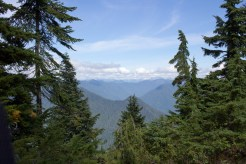Hollyburn Mountain is part of the North Shore Mountains, which surround Vancouver.