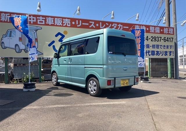 A image of ズズキ・エブリイワゴン スローパー 非課税!!
