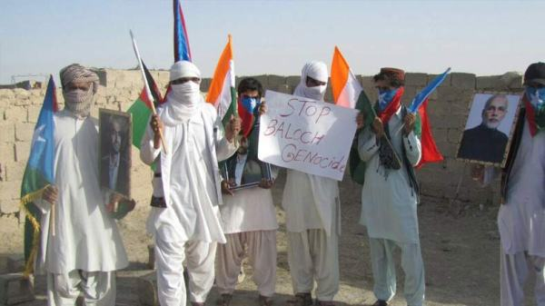 Balochistan: Indian tricolor, PM Modi and Baloch martyr ...