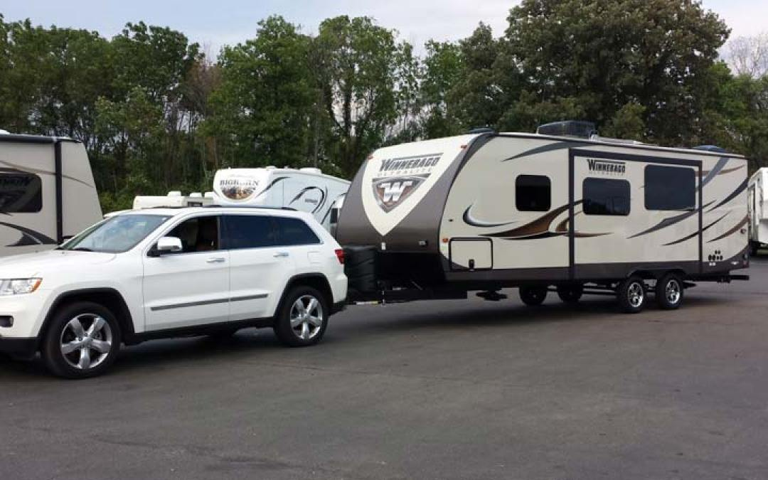 RV Trailer Towing Tips