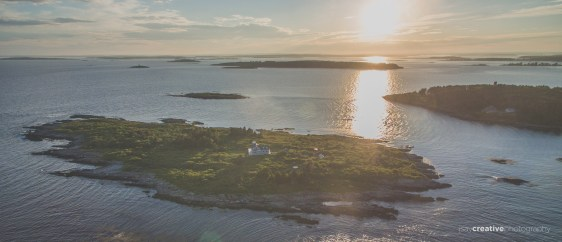 OTHER Aerial Jaquish Island Maine
