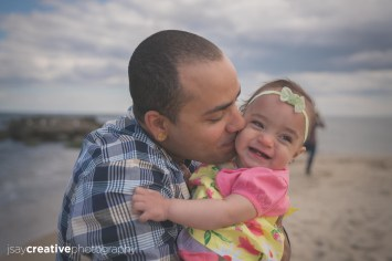 Adorable, Baby, Baby on the Beach, Beach, Beautiful Family, Belmar, Belmar Beach, Children, Daughter, Family, Family at Belmar Beach, Family at the Beach, Family at the Jersey Shore, Father, Father and Daughter at the Beach, Jersey Shore, New Jersey, Ocean, shore