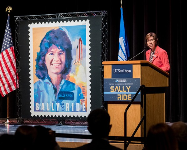JSC Features - Sally Ride commemorated on a Forever stamp ...