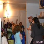 J Scott Catering Kids visit the Office