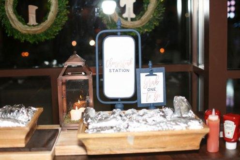 grab & go cheesesteak station