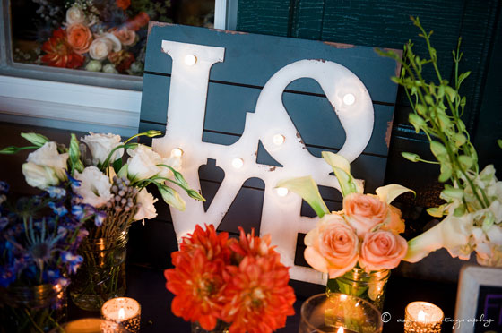 Love Wooden Wedding Decor Sign