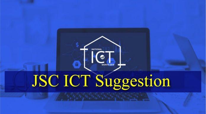JSC ICT Suggestion