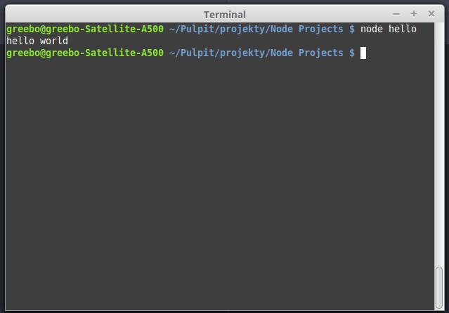 node dla poczatkujacych terminal2