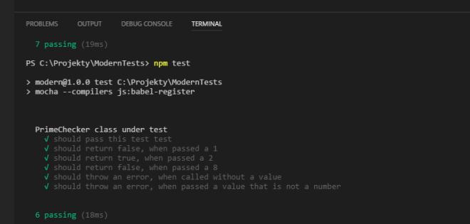 JavaScript Unit Tests