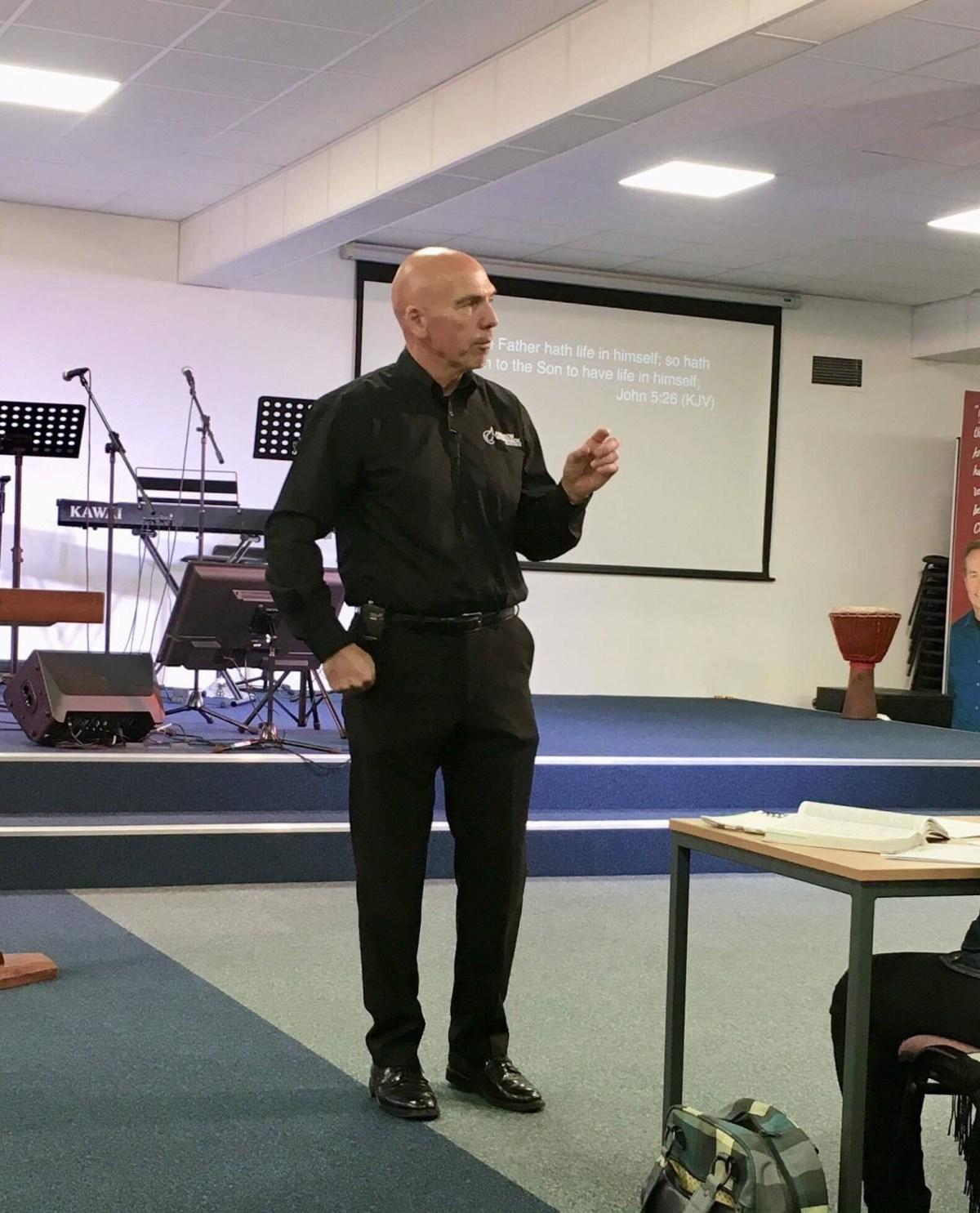 John Ministering