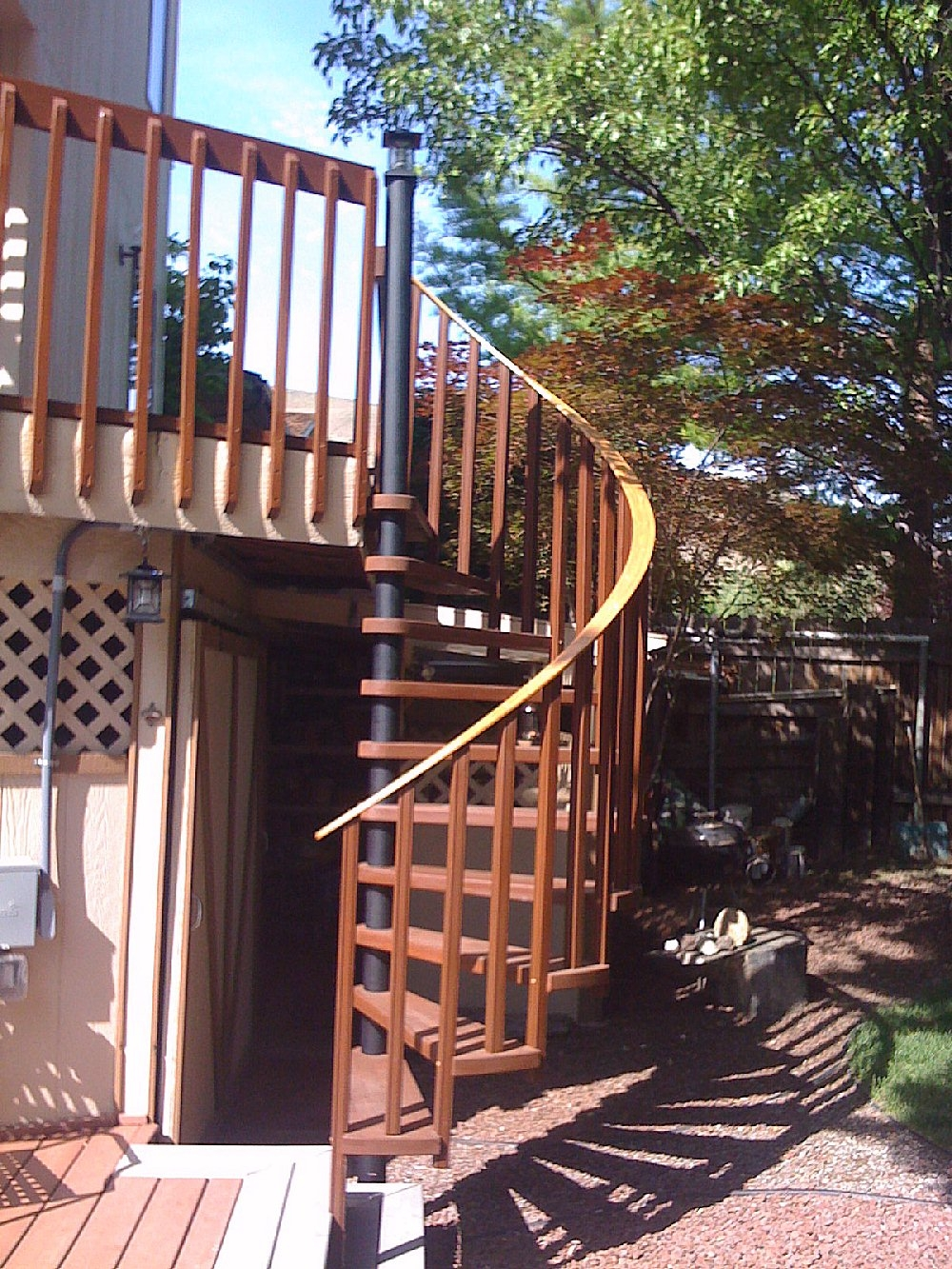 Diy Spiral Staircases | Outdoor Spiral Staircase For Deck | Farmhouse | Basement | Multi Level | 2Nd Floor | Steel