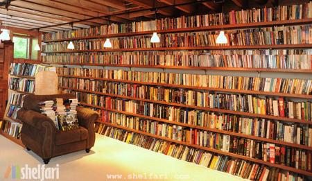 Gaiman Shelves