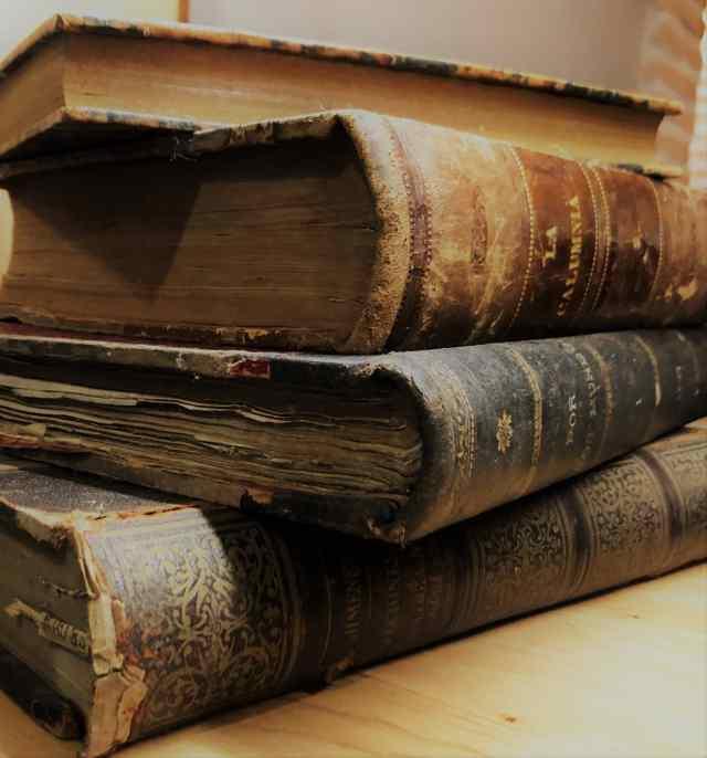 Stack of Spanish Books