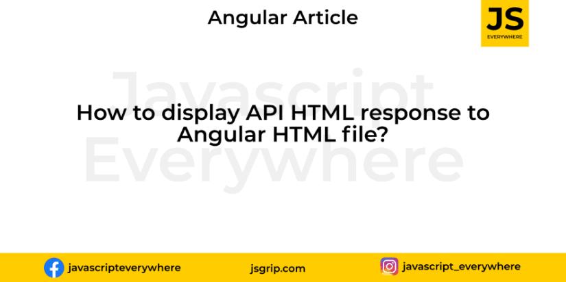 Bind html with angular