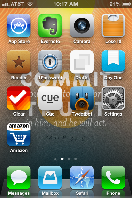 iphone home screen 7.19.13