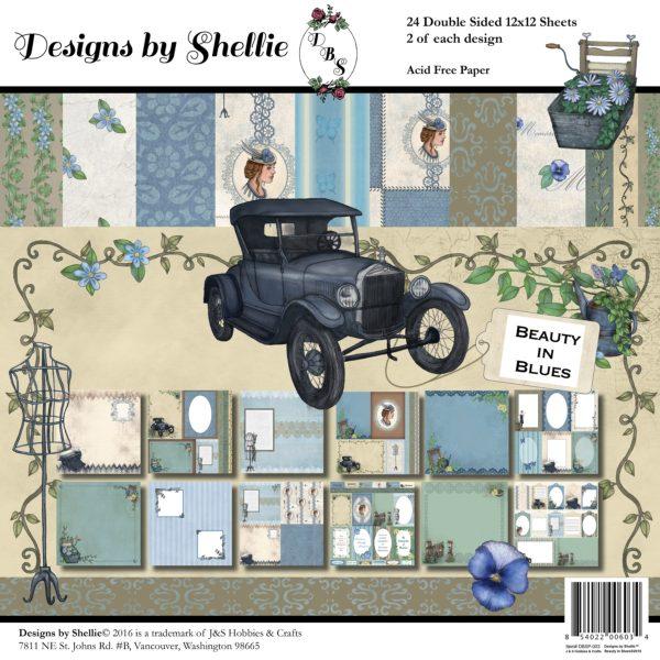 Designs by Shellie Beauty in Blues