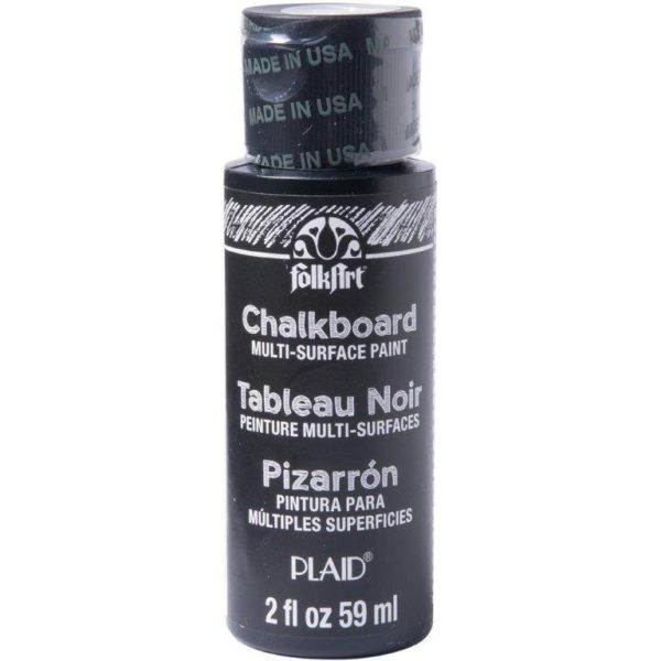 Folk Art Black Chalkboard Paint