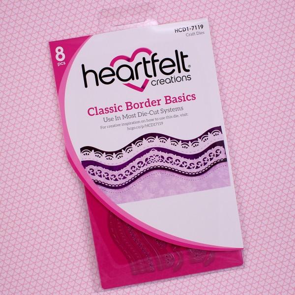 Heartfelt Creations Classic Border Basics Die