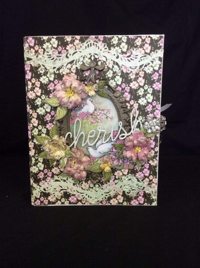 Heartfelt Creations Flowering Dogwood Mini Album Tutorial