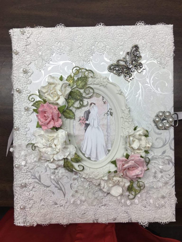 Heartfelt Creations Classic Wedding Mini Album