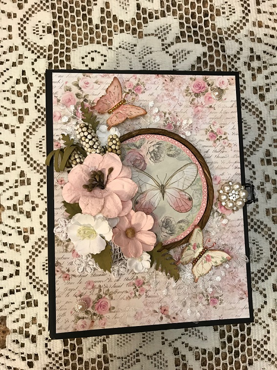 Stamperia Shabby Rose Mini Album