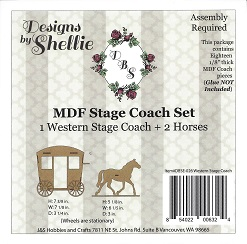 Stagecoach and Horse Kit