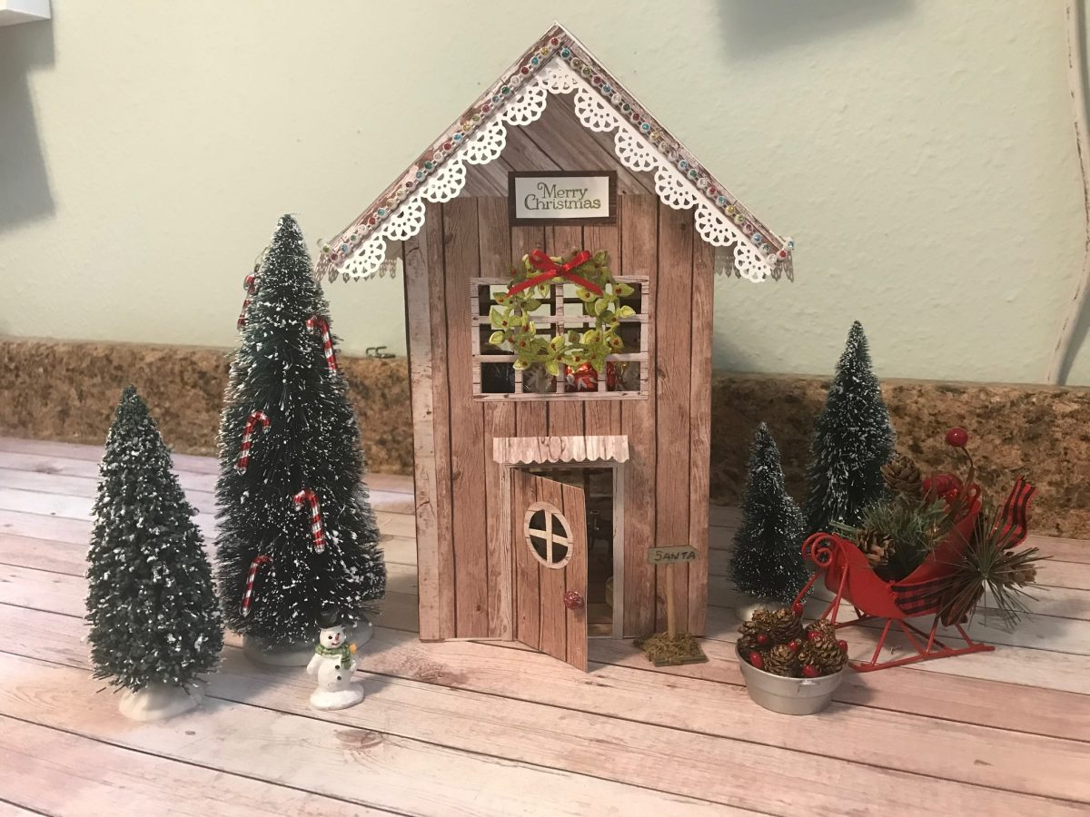 Ciao Bella Woodland 2 Story Lighted Christmas House