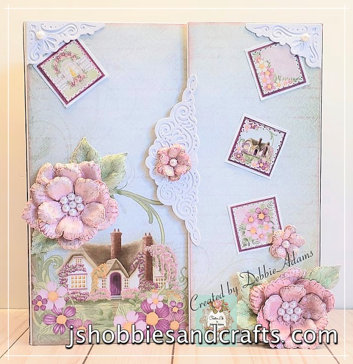 Heartfelt Creations Wild Rose Mini Album