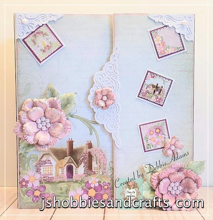 Heartfelt Creations Wild Rose Mini Album