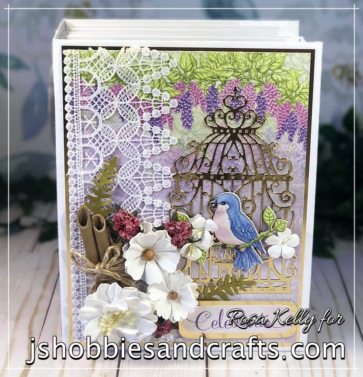 Heartfelt Creations Cascading Petals Mini Album