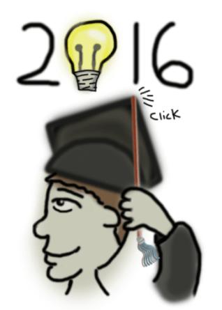 2016 Graduation, Guy Portrait