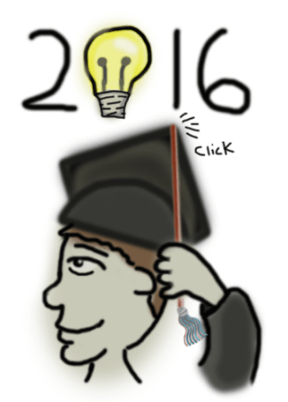2016 Graduation, Guy Portrait