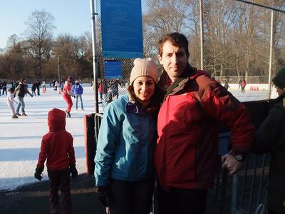 Skating in Prospect Park