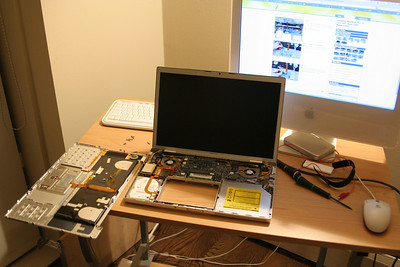 MacBook Pro entrails