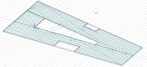 Vibrationskomfort etagedæk, 1 svingningsform
