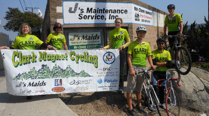 J's supports local high school mountain bike team