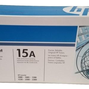 HP 15A Black Original LaserJet Toner Cartridge C7115A