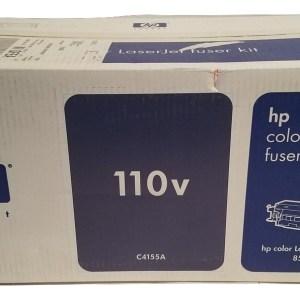 New Hewlett Packard C4155A 110v Genuine Color LaserJet Fuser Kit