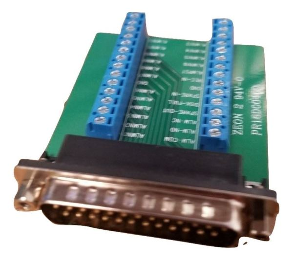 Zeon 2 94V-0 Custom 25-Pin Serial Port Adapter PR16D004G0