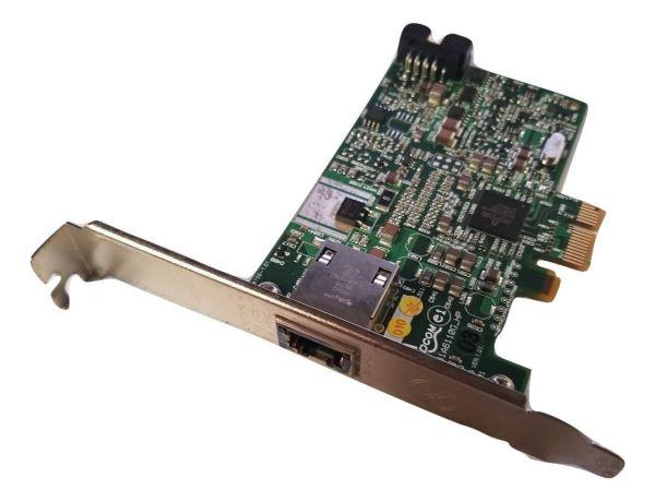 HP 488293-001 1Gbps RJ-45 PCIe x1 Ethernet Network Card Broadcom BCM95761A6110G