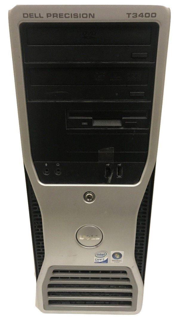 Dell Precision T3400 - Core 2 Duo - 2.33GHz - 4GB - 160GB HDD - Windows Vista Bi