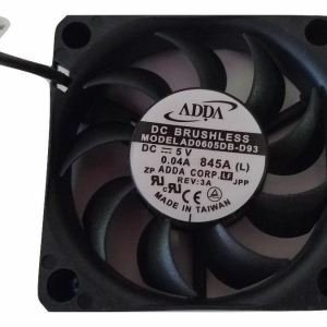 AD0605DB-D93 ADDA 6CM 6015 60mm 0.04A 5V Dual ball axial cooling fan