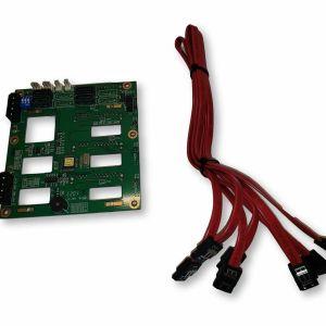 CHENBRO 4xPORT SAS/SATA BACKPLANE 80H102209-010