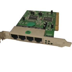 Realtek DB0805012649 4 Port PCI Network Card- DNR-17746
