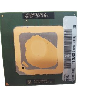 INTEL PENTIUM III-S PROCESSOR 1.13GHZ SL5PU 512KB CACHE 133MHZ FSB PGA370 P3 CPU