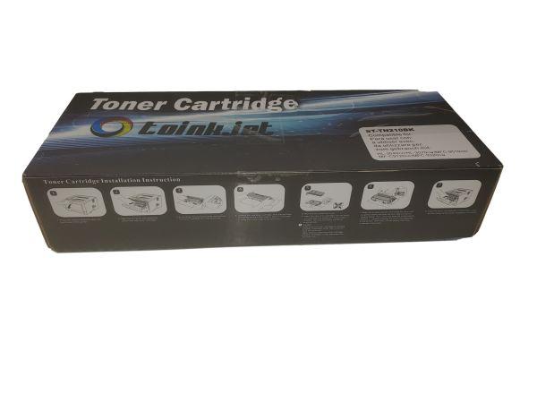 2x Brother Black Toner Cartridge TN210BK HL-3040CN HL-3045CN 3070CW