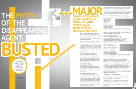 Client Connection, October 2012, feature spread