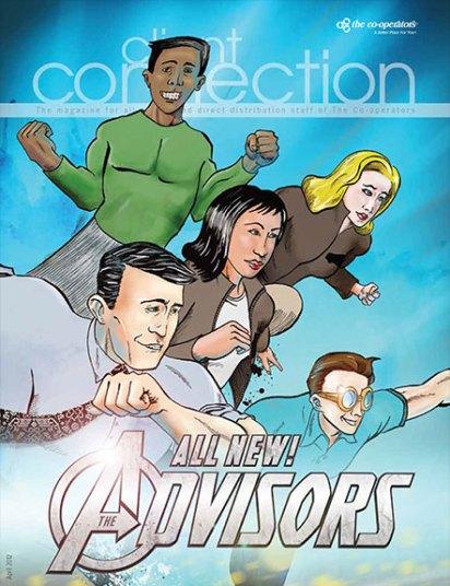 Client Connection, April 2012, cover
