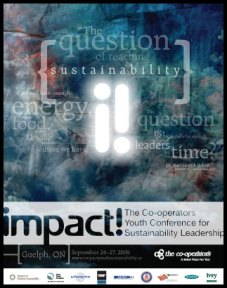 impact! Conference - event poster